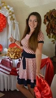 Ведущая Ольга в Житомире