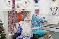 Дед мороз, снегурочка, корпоратив в Фастове