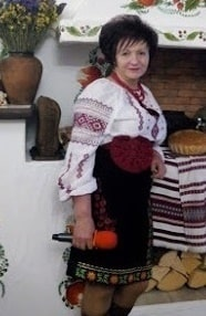 Ведущая Галина Белая Церковь