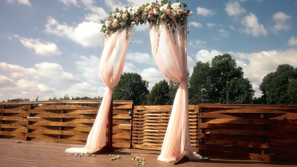 Каркас для свадьбы